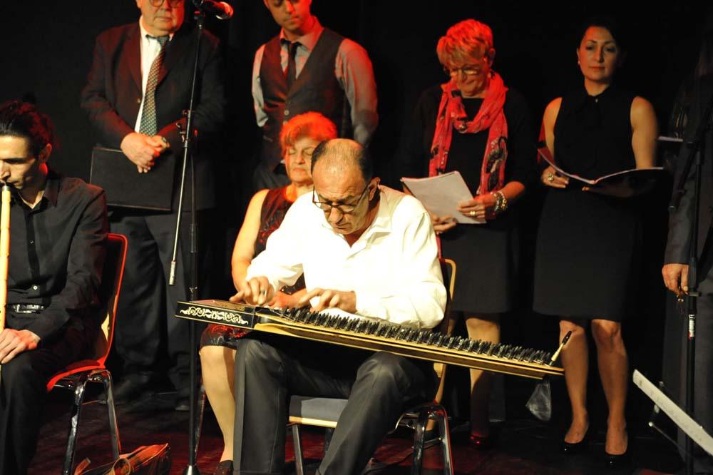 der Auftritt des Türkischen Klassischen Chors Hamburg am 21.04.2019